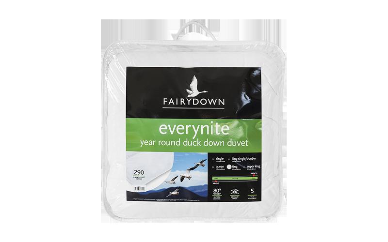 Fairydown – Everynite Year Round Duck Down Duvet