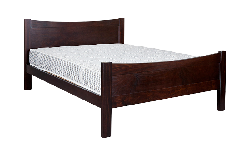 Delta Panelled Bed Frame – High Foot
