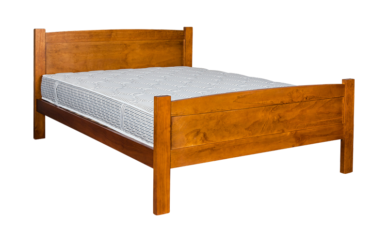 Hugo Panelled Bed Frame – High Foot